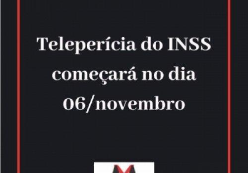 INSS inicia teleperícia