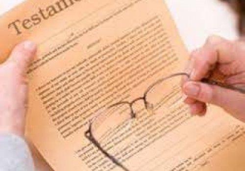 Testamento só tem validade com assinatura de tabelião