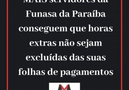 Grupo de Médicos da Paraíba consegue tutela (liminar) para horas extras não serem excluídas de contracheques